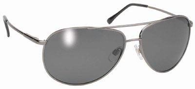 Pacific Coast Aviator Sunglasses (Polarized Pilot Aviator Sunglasses Gray Tint Lenses)
