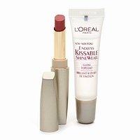 (Loreal Paris Endless Kissable Shinewear Duo Lipstick/Topcoat, #730 Wine & Roses)