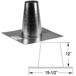 Tall Cone Flat Roof - 2