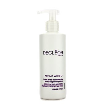 Decleor Aroma White C+ Hydra-Brightening Lotion, Salon Size, 6.7 Ounce