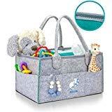 Premium Baby Diaper Caddy Organizer   Strong