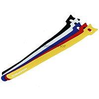 Hook & Loop Fastening Cable Ties 9inch, 50pcs/Pack - 5 Color
