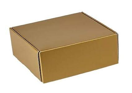 Amazon Com Decorative Shipping Boxes Gloss Finish Gold