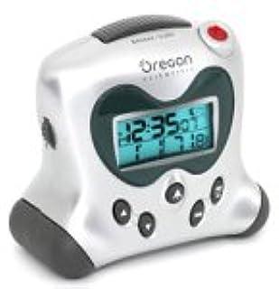 Oregon Scientific RM313PNA Self-Setting Projection Clock, Silver (B0002H4I2C) | Amazon price tracker / tracking, Amazon price history charts, Amazon price watches, Amazon price drop alerts
