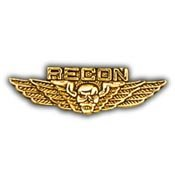 Wing-Usmc,Recon (Mini) (1.25'') (Recon Wing)