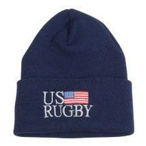 US Rugby Flag Knit Cap