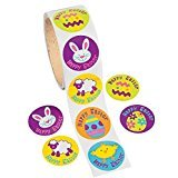 Iconic Easter Roll Stickers (100 Per Roll) - Teacher Resources & Teacher Stickers