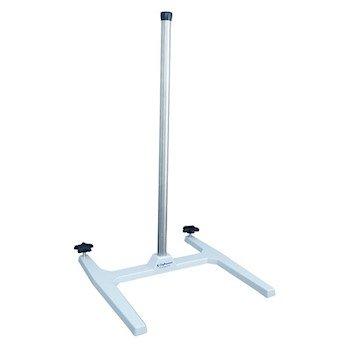 Mixer Safety Stand, cast zinc-Aluminum Base w/epoxy Coating, 304 SS Support Rod