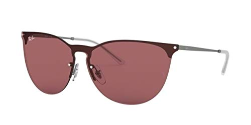Ray-Ban 0RB3652 Gafas de sol, Rubber Gunmetal, 40 Unisex ...