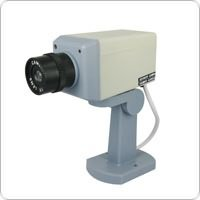 Dummy Security Camera with Motion Detector to Prevent Theft