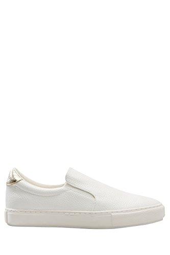 Enfiler Chaussures À Next Femme Blanc De Skate 7UWxf