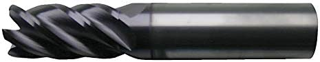 Cleveland Corner Radius End Mill 7//8 Length of Cut Number of Flutes: 5 3//8 Milling Dia. TiAlN CEM-V2-5R C80547