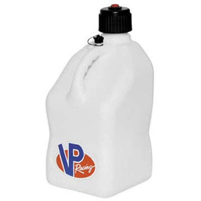 VP Racing Fuels 3522 White Motorsport Jug - 5 Gallon Capacity
