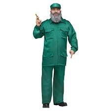 Fidel Castro Costume - Male One Size by (Fidel Castro Costume)