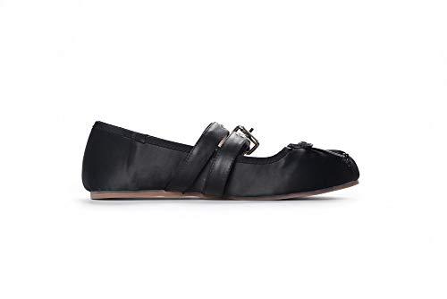 APL11182 Compensées BalaMasa Noir 5 Femme Sandales 36 Noir CRnAxq