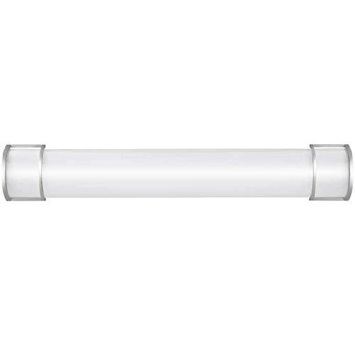 Tangkula LED Vanity Light Bathroom Wall Sconce Lighting 17W Integrated Indoor & Outdoor Living Room Aisle Corridor Lighting Vertical or Horizontal LED Tube Wall Sconce (36'') -