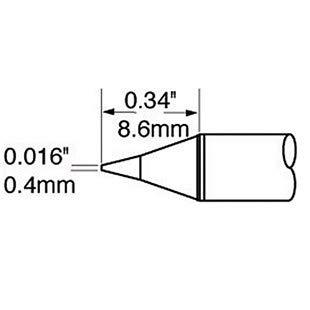 Metcal OK Intl Soldering Tip C onical Cartridge .016