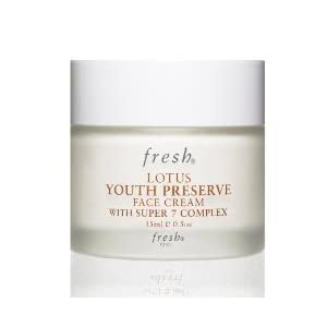 FRESH Lotus Youth Preserve FACE Cream with Super 7 Complex 15ml/0.5oz