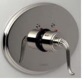 Santec 7093FL20-TM Orobrass Thermostatic Shower-Trim Only W/ Fl Handle (Includes 3/4