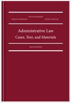Administrative Law: Cases, Text, and Materials