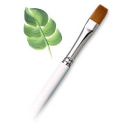 (Royal Golden Taklon Shader Brush - Artist Paint Brush - R150-8 - Single)
