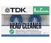 TDK HCL-11 Reinigungskassette Audio trocken by TDK