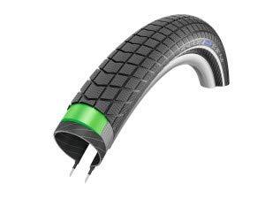 Schwalbe Big Ben Plus HS 439 Cruiser Bike Tire - Wire Bead - 20 x 2.15 (Black-Reflex - 20 x 2.15) ()