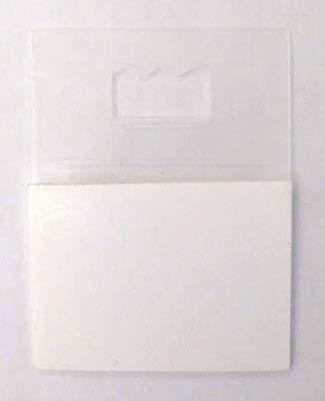 Aidenia Picture Hangers Adhesive - Plastic Sawtooth Adhesive Picture Hangers - Foamboard Hanger - 20 Pack