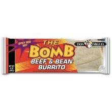 Don Miguel Pinata Spicy Red Hot Beef Burrito, 14 Ounce -- 12 per case.