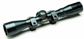 *4x32mm/30/30 Duplex Rifle Scope with Rings