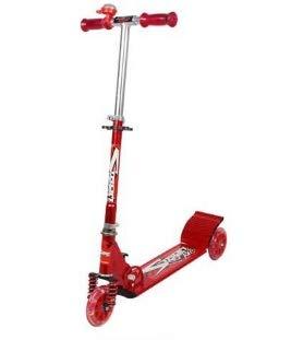 elige tu favorito Mishuai Todo el Amortiguador de Aluminio de Freno de Mano Mano Mano Scooter de Tres Ruedas niños Scooter de Dibujos Animados Puede Levantar Scooter Plegable ( Color   rojo )  punto de venta