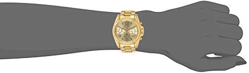 Michael Kors Bradshaw Stainless Steel 43MM Chronograph Watch