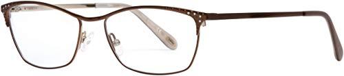 Eyeglasses EMOZIONI 4382 0FG4 Brown Gold / 00 Demo Lens 00 Gold Demo Lens