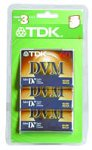 TDK MiniDV Tapes, 60 Minute (3-Pack) Imation - Tdk DVM60MEBXC3 Blank Media & Cleaning Cartridges