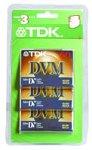 TDK MiniDV Tapes, 60 Minute (3-Pack)