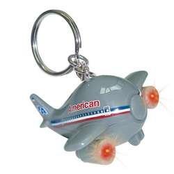 Daron American Airlines Keychain W/Light & Sound