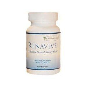 Renavive Natural Therapy For Kidney Stones (3) Bottles 60 Cap in each Bottle