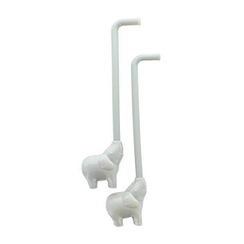 Paladone Reusable Elephant Straws product image