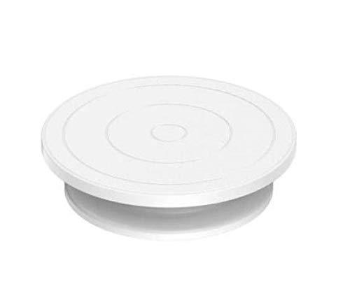 MOREL Plastic Cake Server  White, Pack of 1