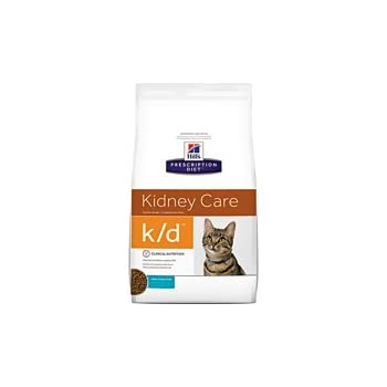 Hills Prescription Diet k/d Kidney Care with Ocean Fish Dry Cat Food 8.5 lb