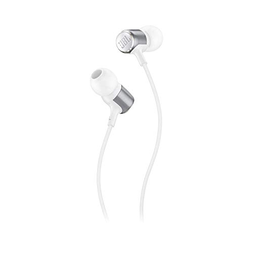 JBL Live 100 in-Ear Headphones with Remote - White