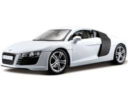 Awesome Maisto 1:18 Scale White Audi R8