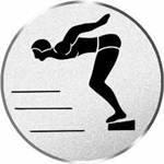Durchmesser 50 mm Durchmesser Sportland Pokal//Medaille Emblem S.B.J Motiv Schwimmen//Start