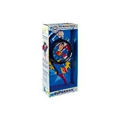 Superman 3D Motion Wall Clock, boy's Christmas Collection gift.