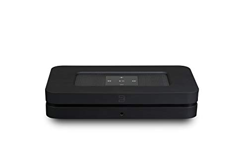 Bluesound Node 2i Wireless Multi-Room Hi-Res Music Streaming Player - Black - Works with Alexa and Siri