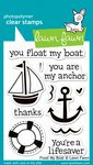 Lawn Fawn Clear Stamps - Float My Boat #LF654 (Stamps Acrylic Lawn Fawn)