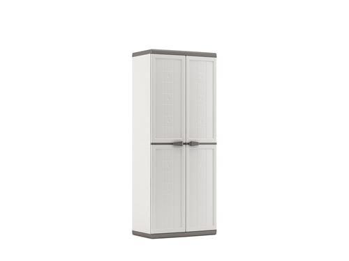 Kis Kunststoffschrank'Jolly utility', 1 Stü ck, weiß /grau, 9734000 0447 01 9734000_0447