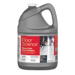 Diversey Floor Science Professional Heavy Duty Floor Stripper, 1 Gallon Concentrate - Covers up to 1,125 SQ FT (4 Pack) ()