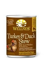 Wellness Dog Food STW Trky Dck SWT Pto, 12.5 Oz