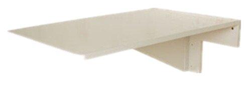 SoBuy® Tavolo da muro pieghevole in legno 70×45cm, FWT04-W, IT (Senza Sedia) 33042